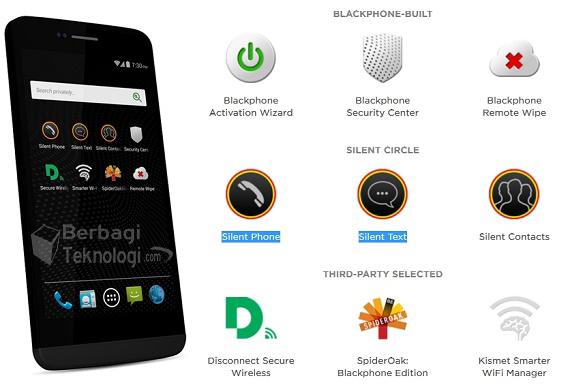 blackphone 2 spesifikasi