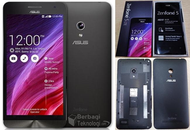 Gambar Asus ZenFone 5 4G LTE Single SIM