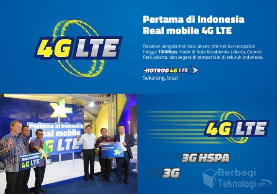 Jaringan 4G LTE XL Axiata
