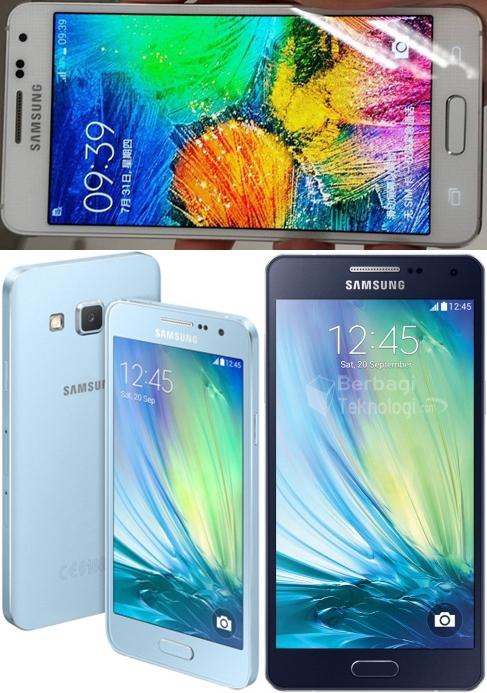 Samsung Galaxy A5 dan Galaxy A3