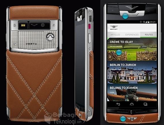 Gambar Android Vertu for Bentley