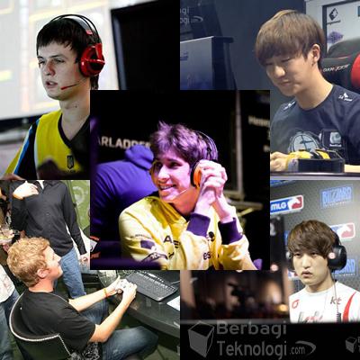 Daftar 5 Gamer Profesional Terkaya di Dunia