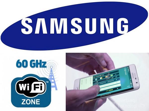 Teknologi Wifi Tercepat Samsung 60 GHz