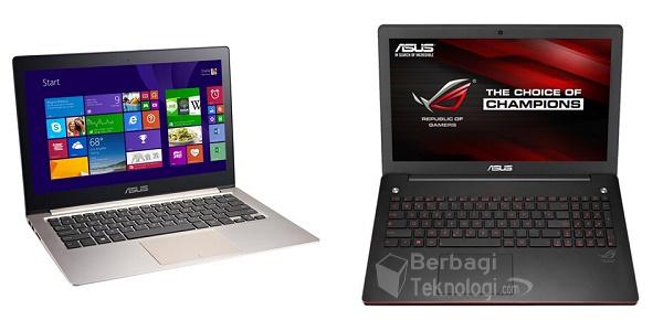 spesifikasi laptop asus dan gambarnya