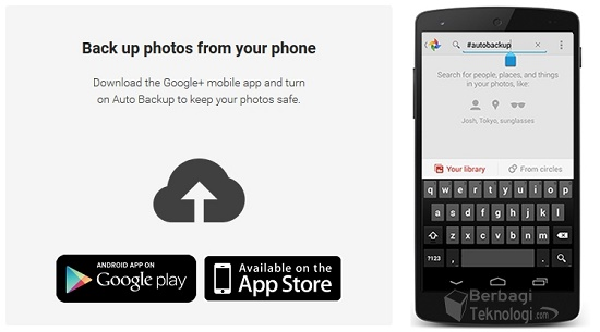 Aplikasi Odysee Backup Foto Google Plus