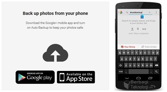 Aplikasi Odysee Backup Foto Google Plus