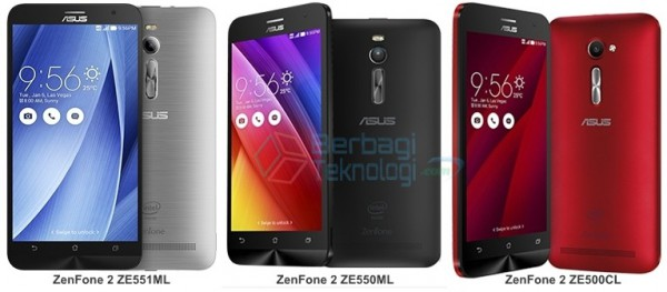 spesifikasi asus zenfone 2 ze550ml vs ze551ml