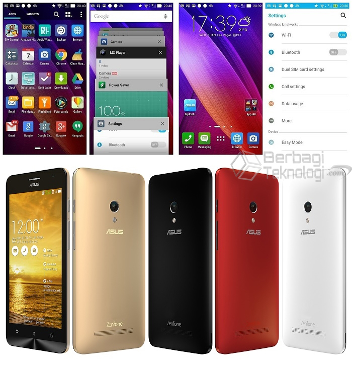 Upadate Android Lollipop ZenFone