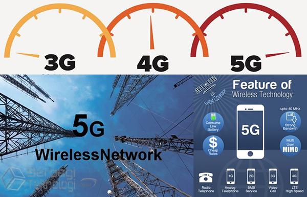 Internet 5G berkepatan 20 Gbps