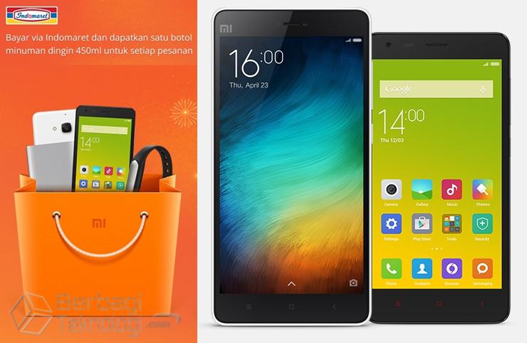 Pembayaran Produk Xiaomi di Indomaret