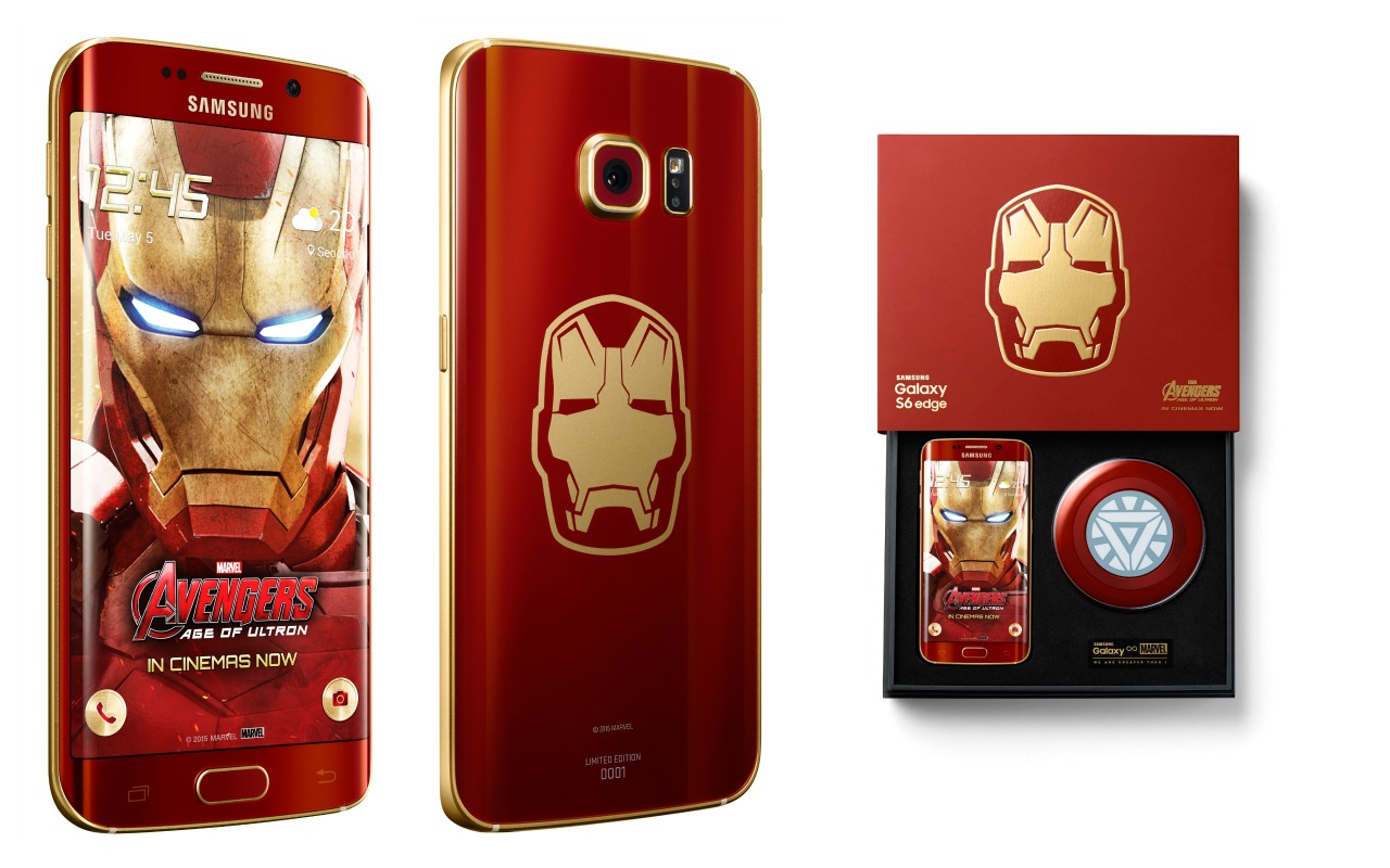 Samsung Galaxy S6 edge Iron Man