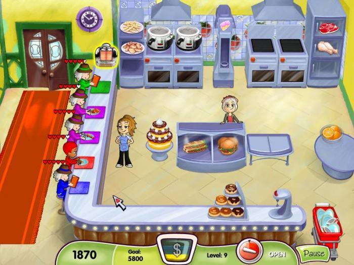 permainan memasak perempuan