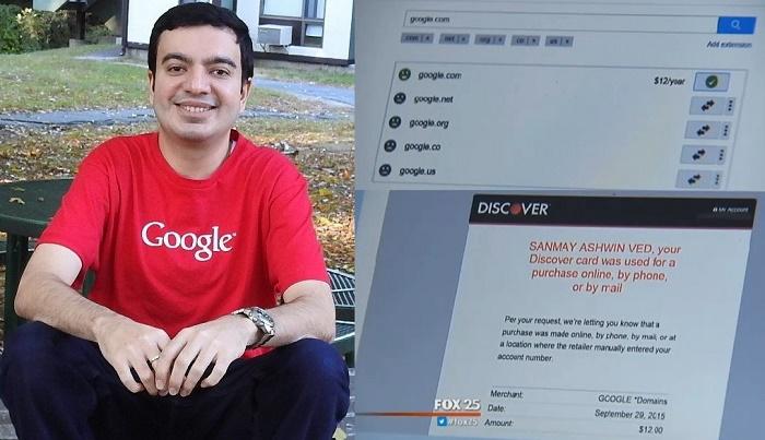 Domain Google.com Dibeli $12