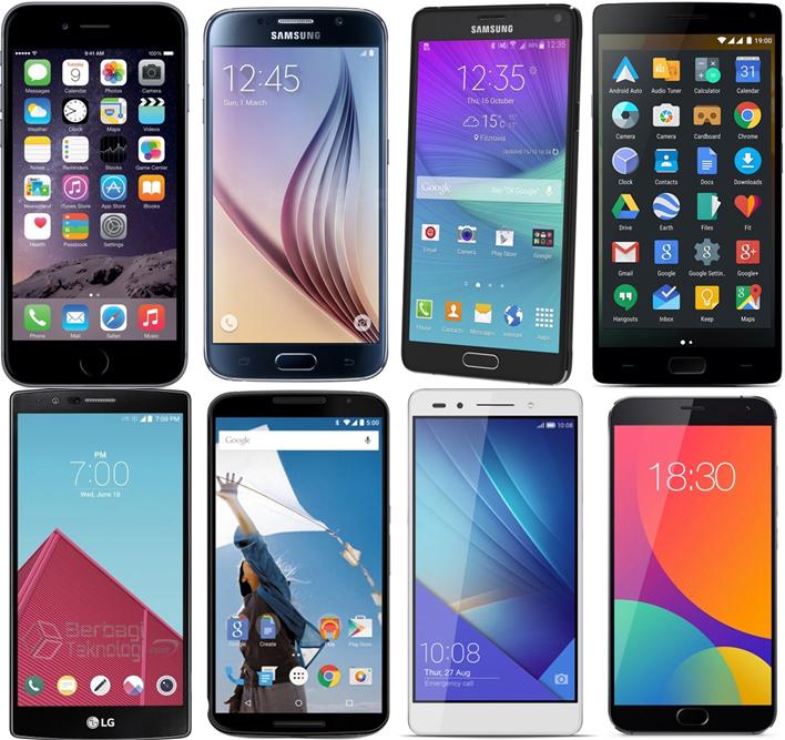Daftar Harga 8 Smartphone Premium Terbaru
