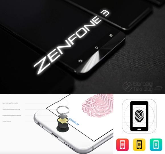 Asus Zenfone 3 Fingerprint Sensors