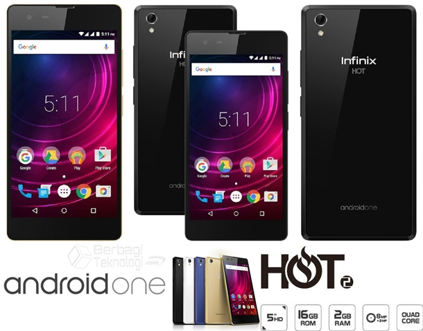 Infinix Hot 2 X510 HP Quad Core RAM 2GB