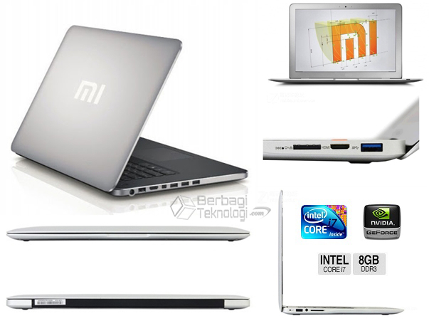 Notebook Xiaomi 8GB RAM Core i7