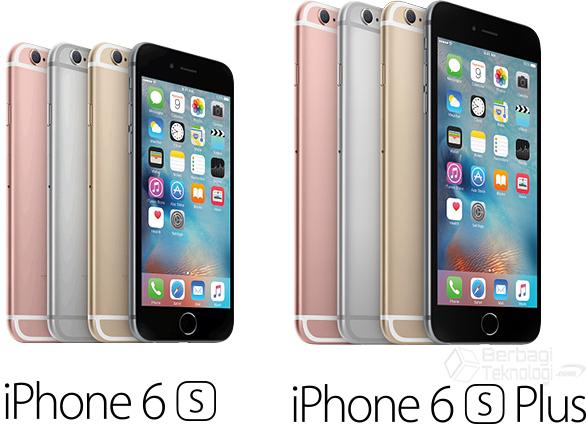 Perbedaan Spesifikasi iPhone 6s Plus dan iPhone 6s