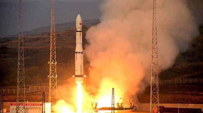 Roket Long March 2-D Dark Matter Satellite