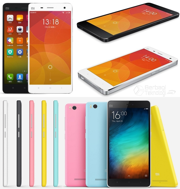 Spesifikasi Harga Xiaomi Mi4i dan Xiaomi Mi4