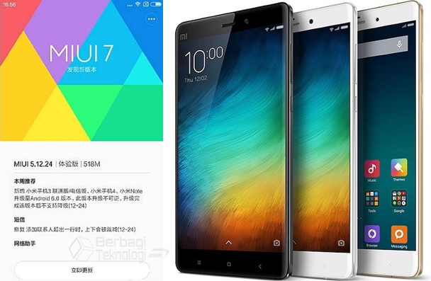 Xiaomi Mi4 Update Android 6