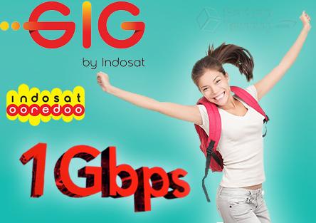 Indosat GIG Internet Berkecepatan 1 Gbps