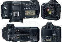 Kamera DSLR Terbaru Canon 1DX Mark II