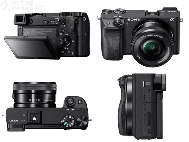 Kamera Mirrorless Sony A6300