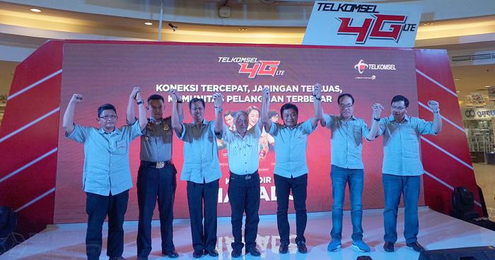 Telkomsel 4G Coverage Area