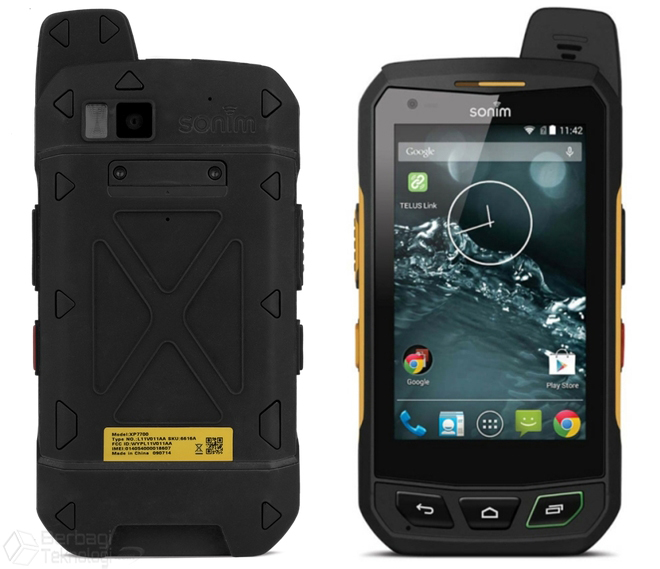 Sonim XP7 Handphone Outdoor Anti Air Dan Tahan Banting