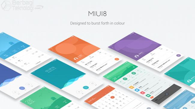 MIUI 8 Colors