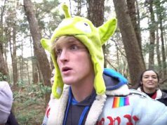 YouTuber Logan Paul