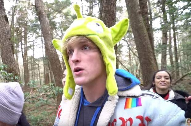 YouTuber Logan Paul