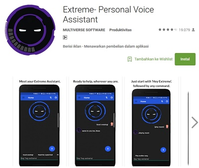 Extreme - Personal Voice Assistant