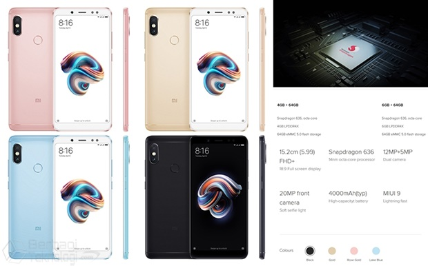 Harga Xiaomi Redmi Note 5 Pro