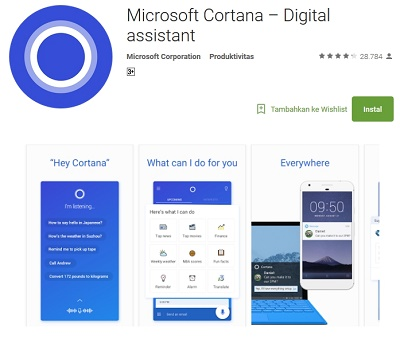 Microsoft Cortana - Digital Assistant