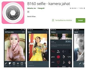 B160 selfie kamera jahat android