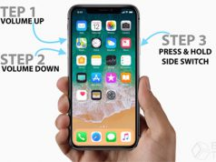 Cara Restart Paksa iPhone X dan iPhone 8