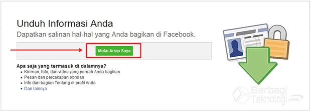 Cara mengembalikan foto Facebook yang terhapus