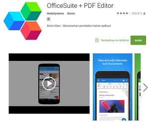 OfficeSuite + PDF Editor