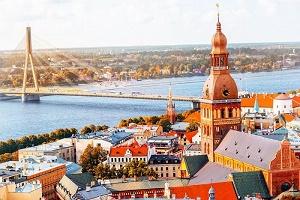 Latvia, download 8.46 Mbps dan upload 8.33 Mbps