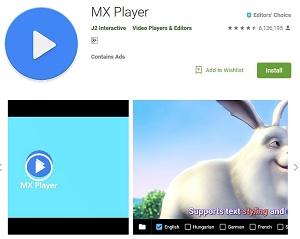 download mx player terbaru