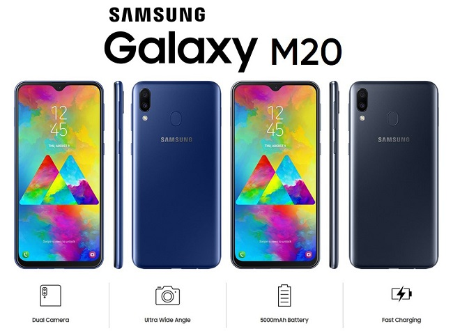 Harga Samsung Galaxy M20