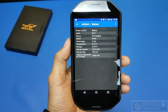 ratel cell specs