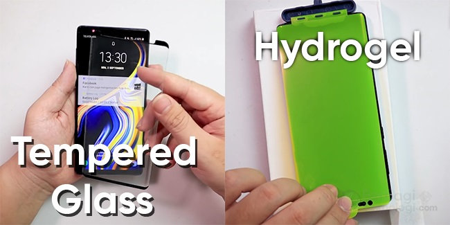 hydrogel vs tempered glass